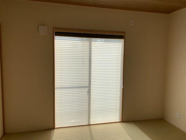 宮崎市 和室のプリーツスクリーン 施工事例